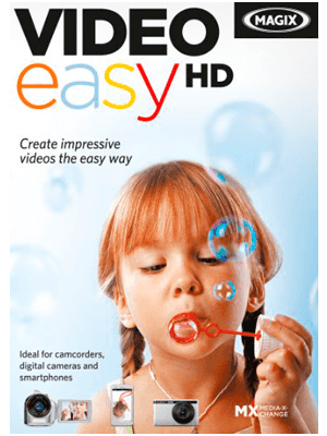 MAGIX Video Easy HD box