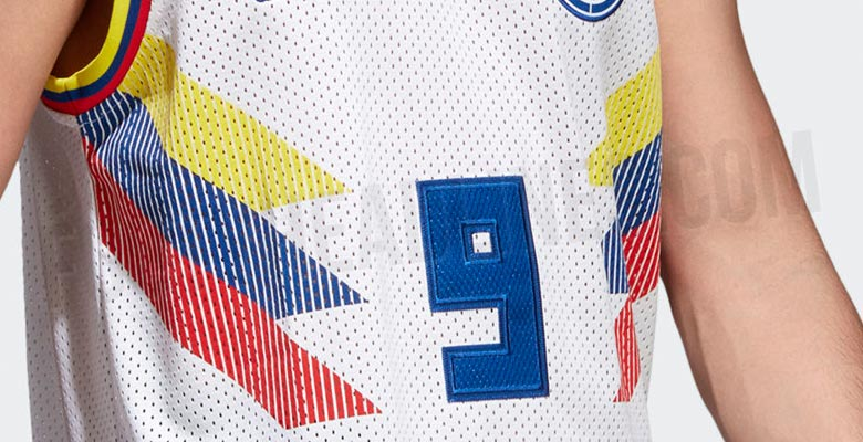 OFFICIAL Pictures: Adidas Colombia 2018 World Cup Basketball ...