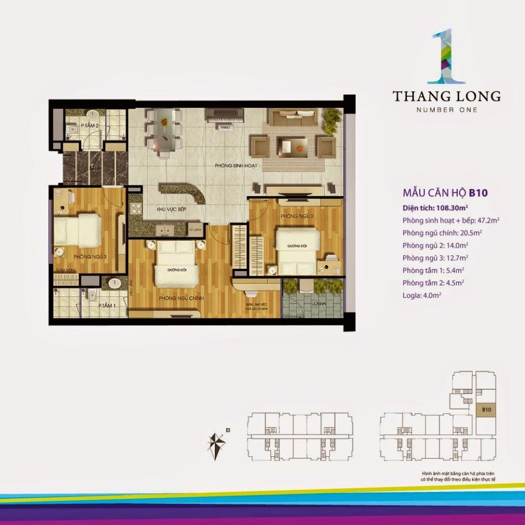 Căn B10- 108,30 m2