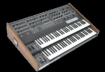 El mastodóntico sintetizador Sequential Circuits Prophet 10, fabricado entre 1980 y 1984.