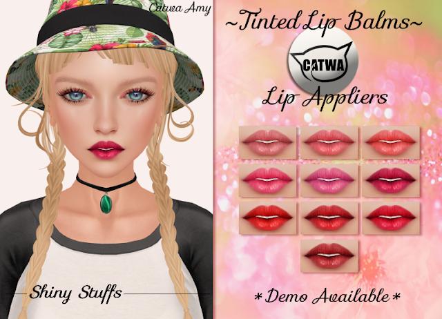Shiny Stuffs Tinted Lip Balms