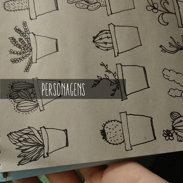 Personagens: Planos e Redondos