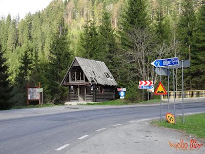 Intersectie Bilbor Borsec