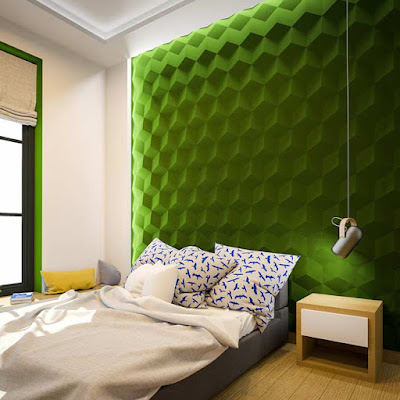Modern 3d gypsum wall panels installation, 3d gypsum panels for bedroom