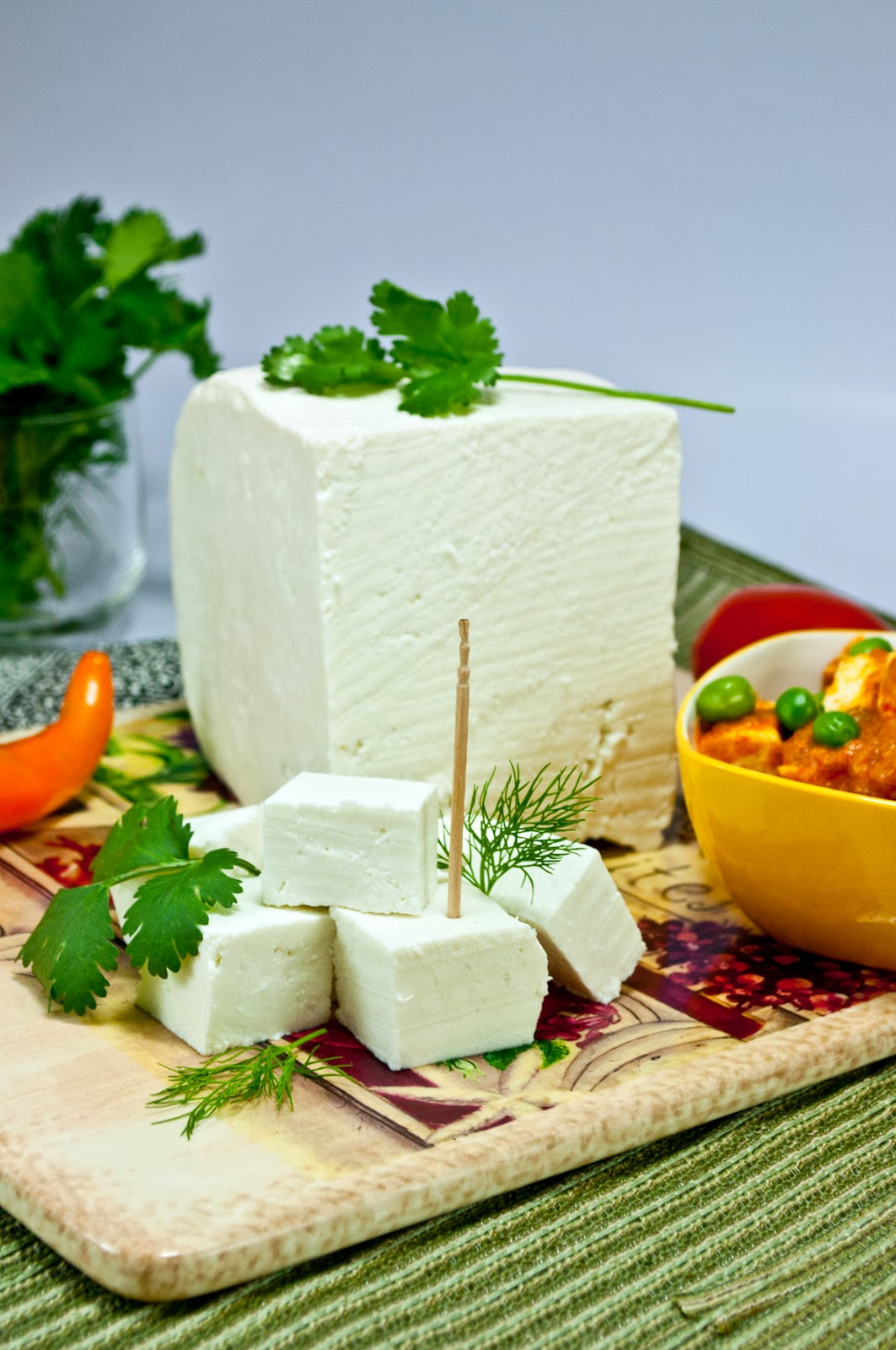 Soft and Spongy Paneer