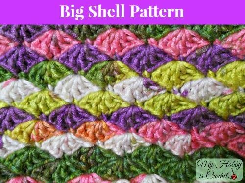 big shell stitch crochet pattern