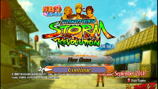 NEW ULTIMATE STORM REVOLUTION MOD NARUTO HEROES 3 PARA ANDROID (PPSSPP) MEGA E MEDIAFIR