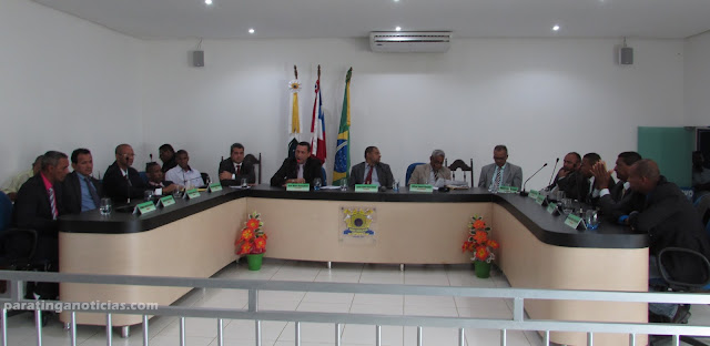 Sessão solene abre os trabalhos da Câmara Municipal de Paratinga
