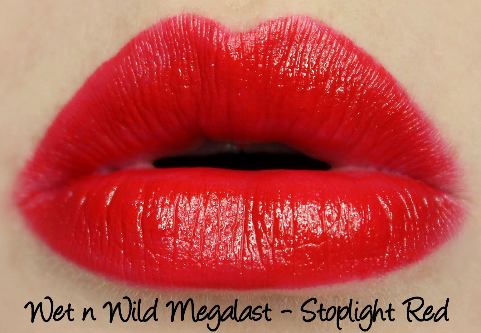 Wet n Wild Stoplight Red Swatches & Review