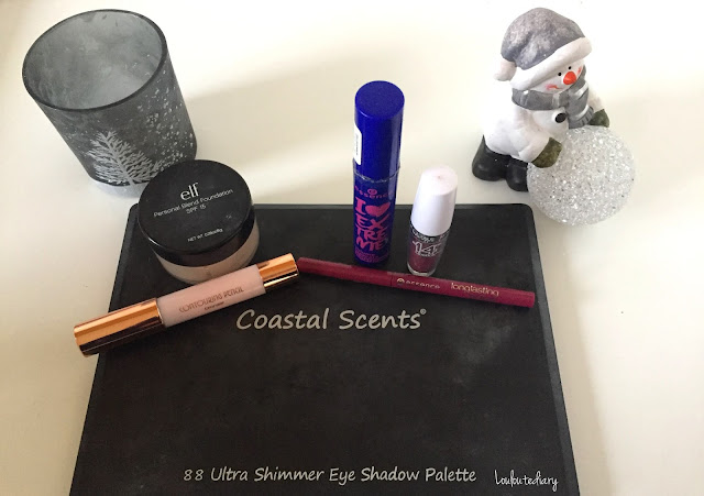 Essence, ELF, Kiko, Maybelline New York, Coastal scents .
