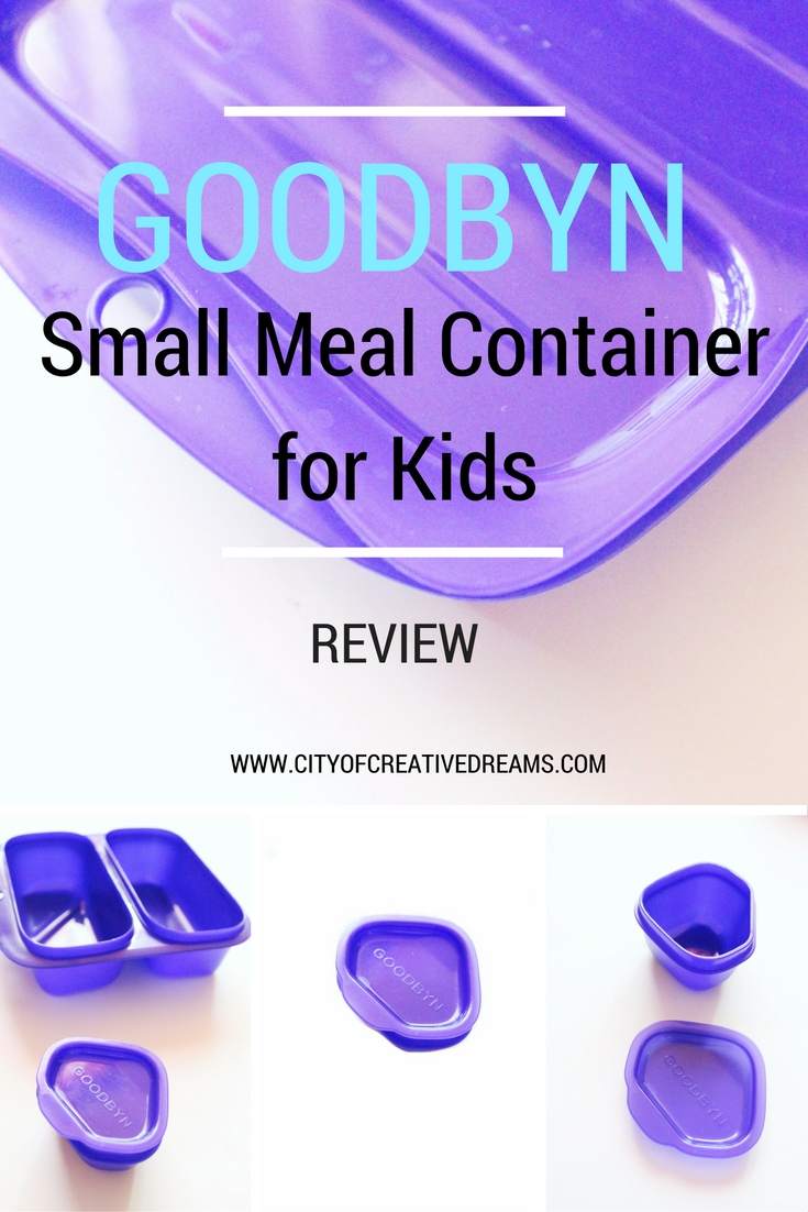 Goodbyn Small Meal Container for Kids Review | City of Creative Dreams