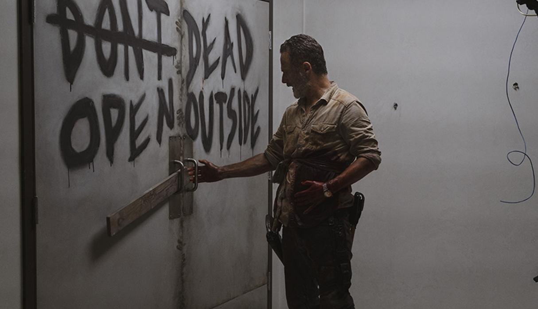 Rick Grimes en el hospital de Altanta, en el episodio 9x05 What Comes After