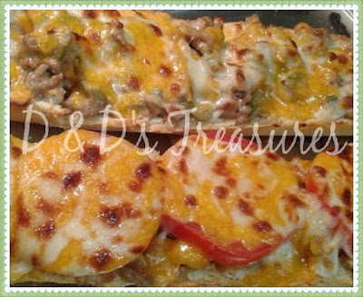 Mexican Open Faced Sandwich Recipe