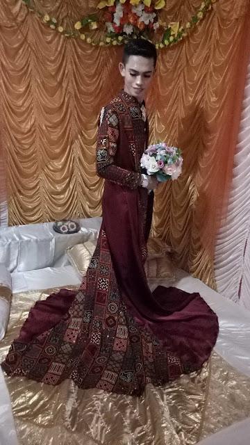 Gunakan Batik Toraja ala Jubah Jaman Now, Amorah Dibanjiri Pujian dari Netizen