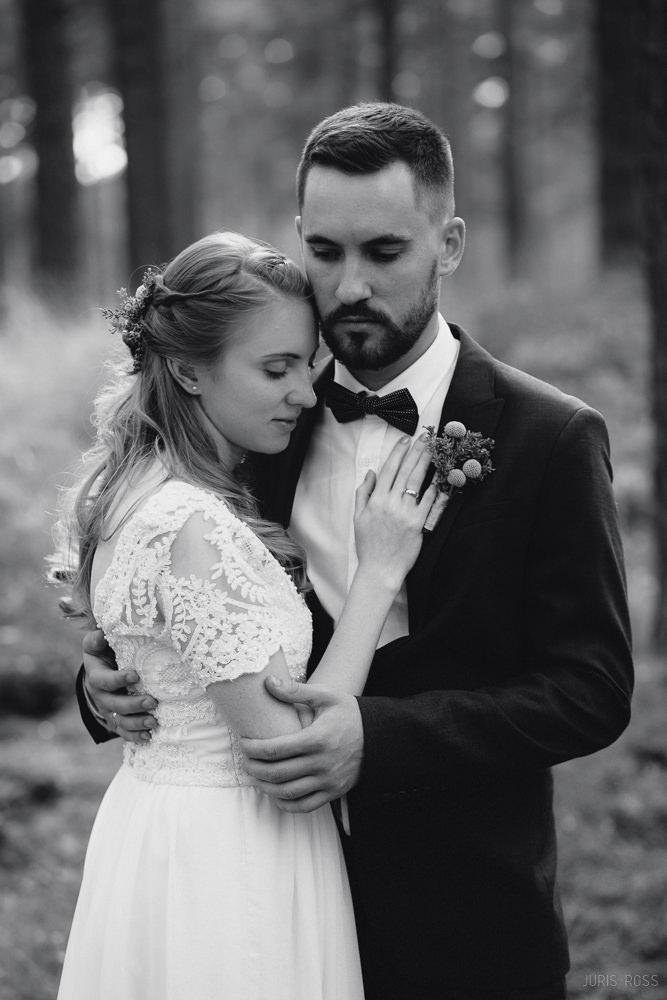 Idejas kāzu fotosesijai piemēri