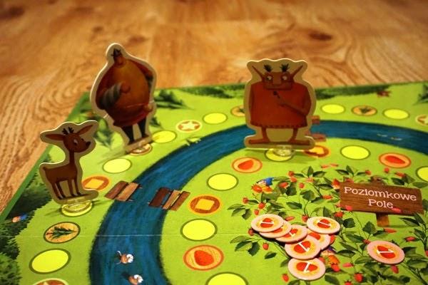 gra dla przedszkolaków, Tappi i poziomkowa przygoda, opinia