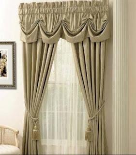 Consigli per la casa e l 39 arredamento le tende arricciate for Case arredate classiche