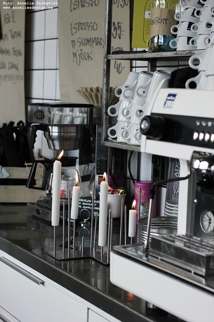 annelies design, kaffe, webbutik, webbutiker, inredning, poster, barista, varberg verket, tavla, tavlor, industrillt, industristil, kök, restaurang, varberg, dekoration, ljusstake, ljusstakar, inredningsbutik, candle cross, rostfritt, rostfri, rostfria,