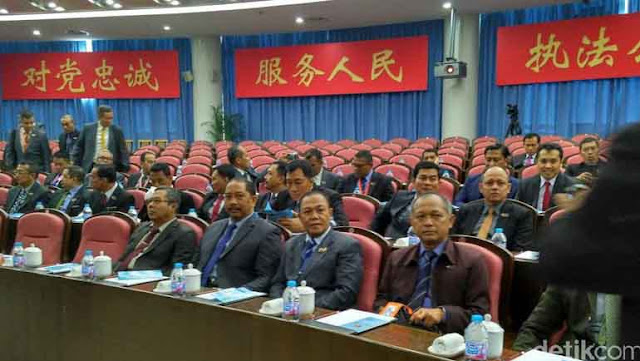 60 Calon Jenderal Polri Kuliah Kerja Nyata di China