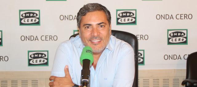 """""""Aquí en la Onda"""" de Onda Cero, entrevista a Javier Hervás."""
