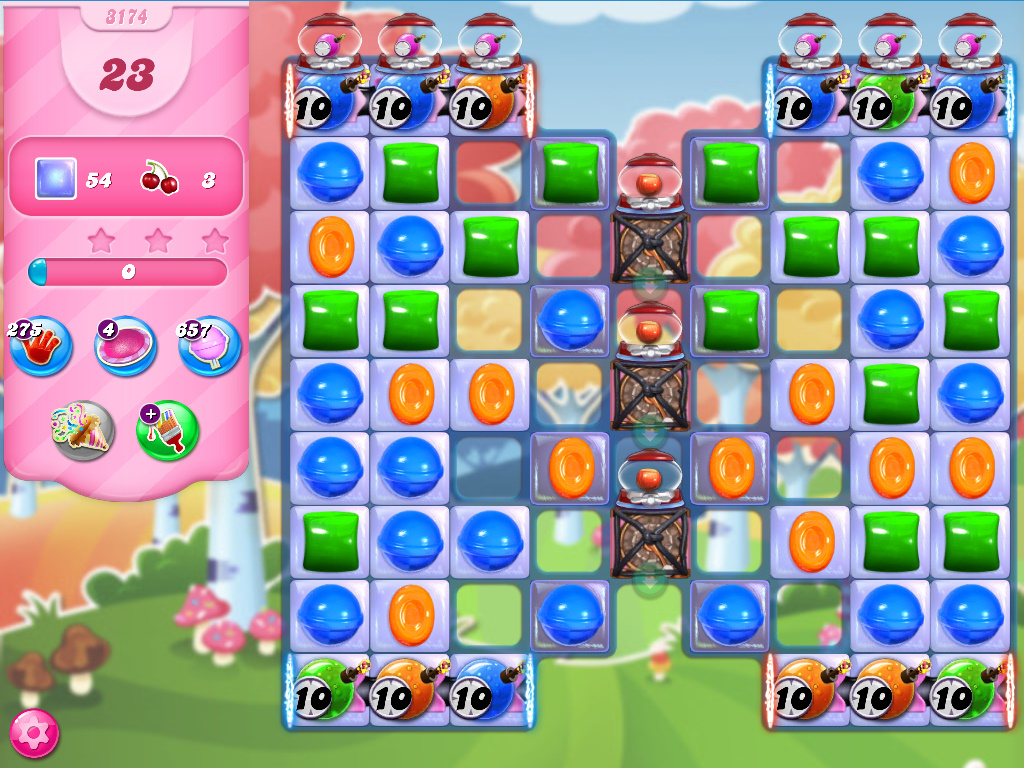 Candy Crush Saga level 3174