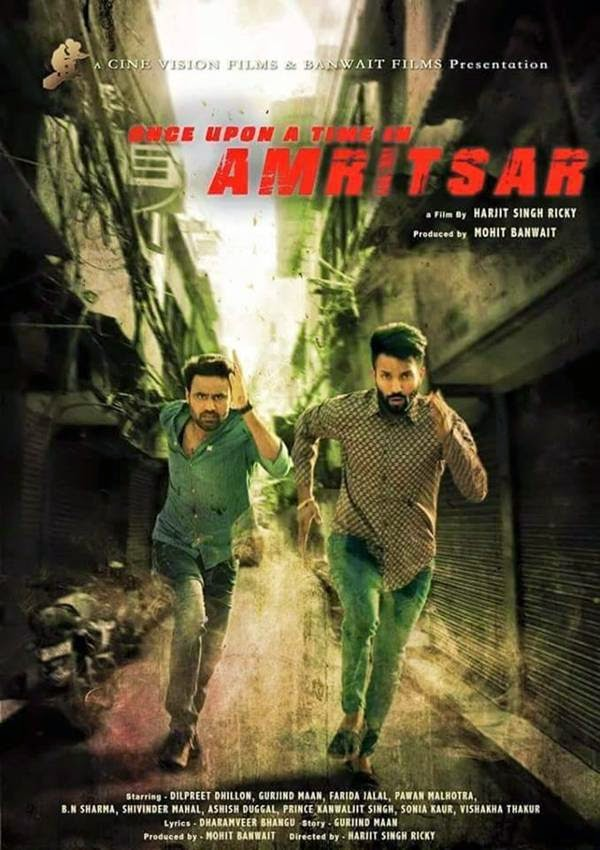 Once Upon A Time in Amritsar (2016) Punjabi Movie DVDRip Download