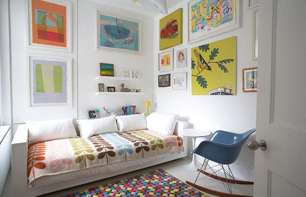 Contoh desain kamar tidur anak ukuran kecil