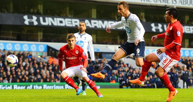 Soldado nets the Spurs winner