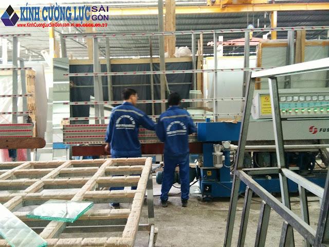 Quy trình đào tạo nghề nhôm kính tại Đại Đại Dương Glass