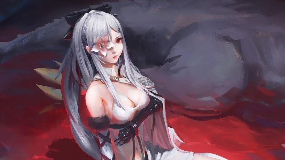 Anime, Girl, Fantasy, 4K, #4.2447
