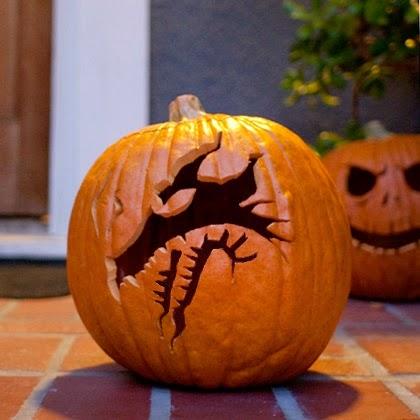 Sasaki Time Craft Time Maleficent S Dragon Pumpkin Carving