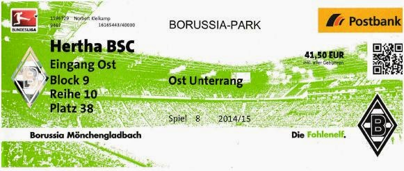 Hertha Gladbach Tickets