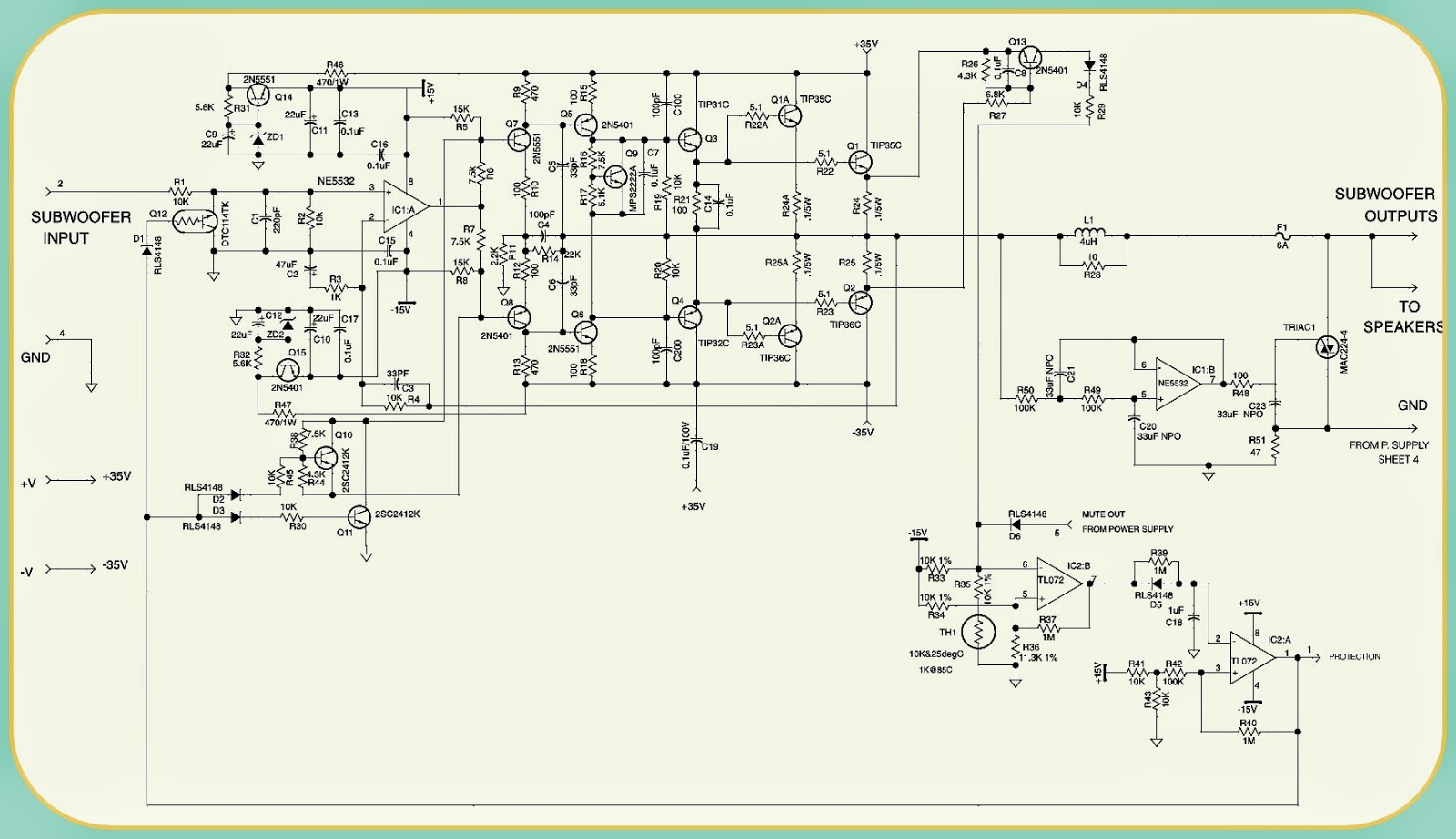medium resolution of bass 550 jbl powered subwoofer schematic circuit diagram jbl powered subwoofer bass550 circuit diagram exploded view power