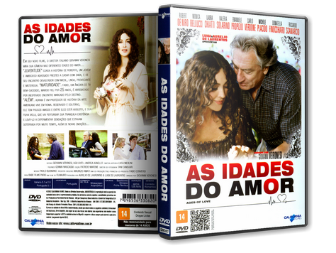 Capa DVD As Idades do Amor