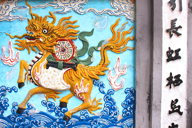 Hanoi dragons, Vietnam - lifestyle & travel blog