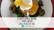 A Light Lunch Recipe: Tuna Rosti and Poached Egg