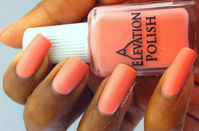 Lacquer Lockdown - Elevation Polish, Heights of Hawaii Collection, Elevation Polish Pa'ako, pink creme polish, indie polish, creme polish,