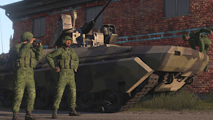 Arma3用で2035年の架空ロシア軍アドオン