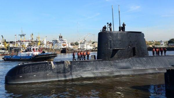 """Armada argentina investiga """"nuevos contactos"""" del submarino desaparecido"""