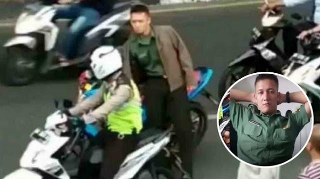 Video Polisi Jadi Sasaran Amuk Oknum TNI Di Pekanbaru