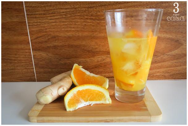 como fazer caipirinha laranja gengibre