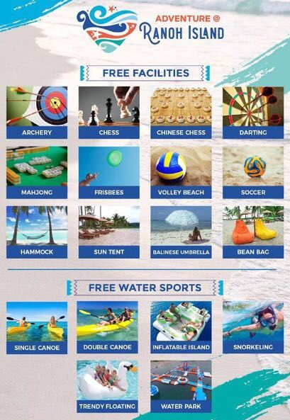 WA 081210999347 Excitement Adventure Ranoh Island, Newly Opened Beach Attraction in Batam, Riau Islands