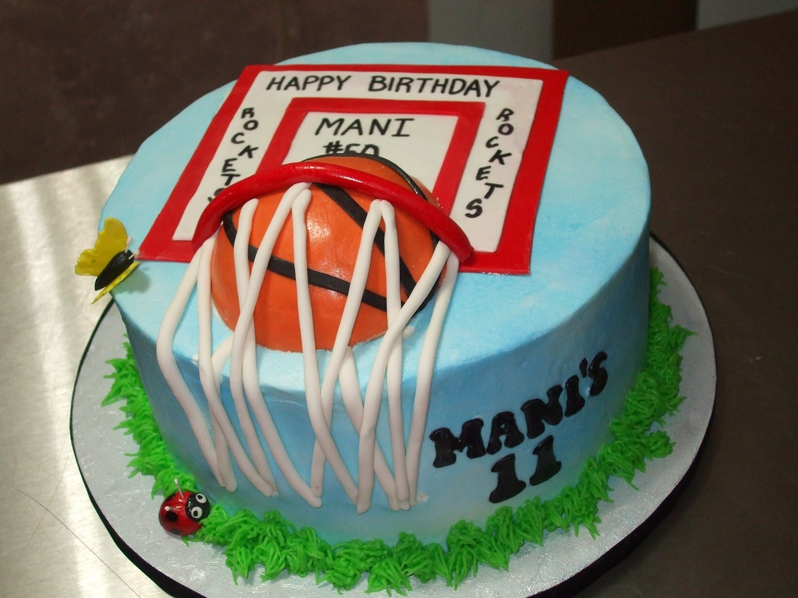 Cakes By Paula Basketball Theme Cake