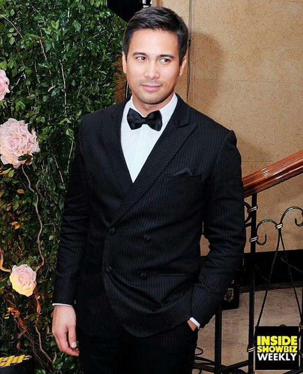 Sam Milby wore a Francis Libiran tuxedo at the Star Magib Ball 2016