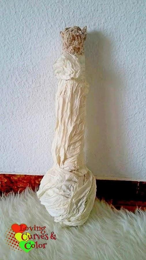 Vase-in-paper-mache