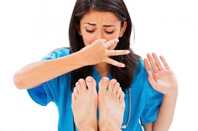 stinky feet remedy
