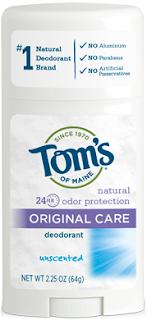 desodorante sin aluminio iHerb Toms of Maine