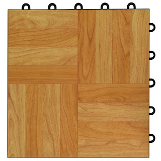 Greatmats Max Tile Raised Floor Tile vinyl top plastic base
