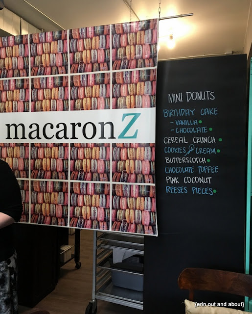 {ErinOutandAbout} MacaronZ Afternoon Tea