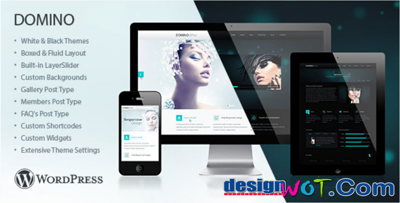 Domino Responsive WordPress Theme